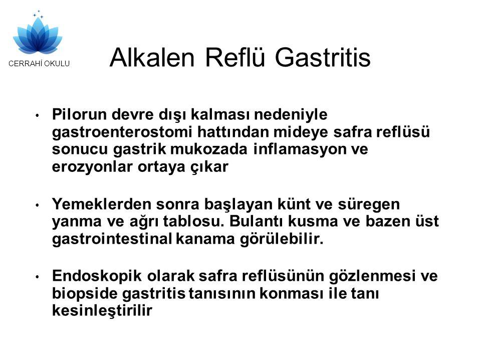 Alkalen Reflü Gastritis