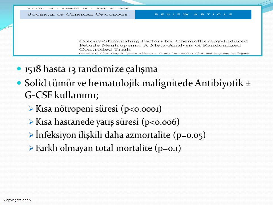 1518 hasta 13 randomize çalışma