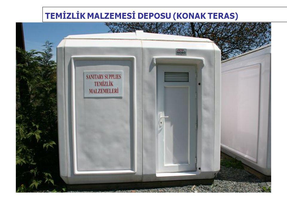 TEMİZLİK MALZEMESİ DEPOSU (KONAK TERAS)