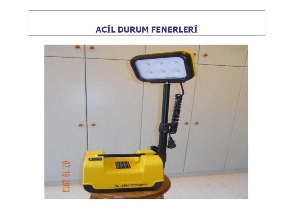 ACİL DURUM FENERLERİ