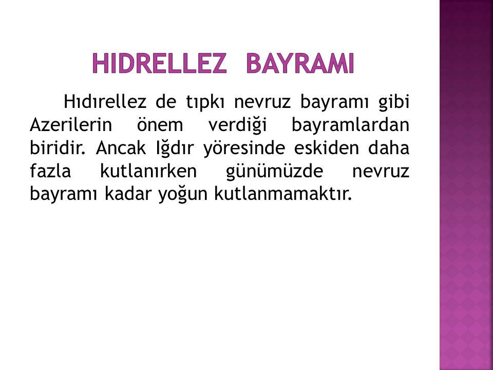 HIdrellez bayramI