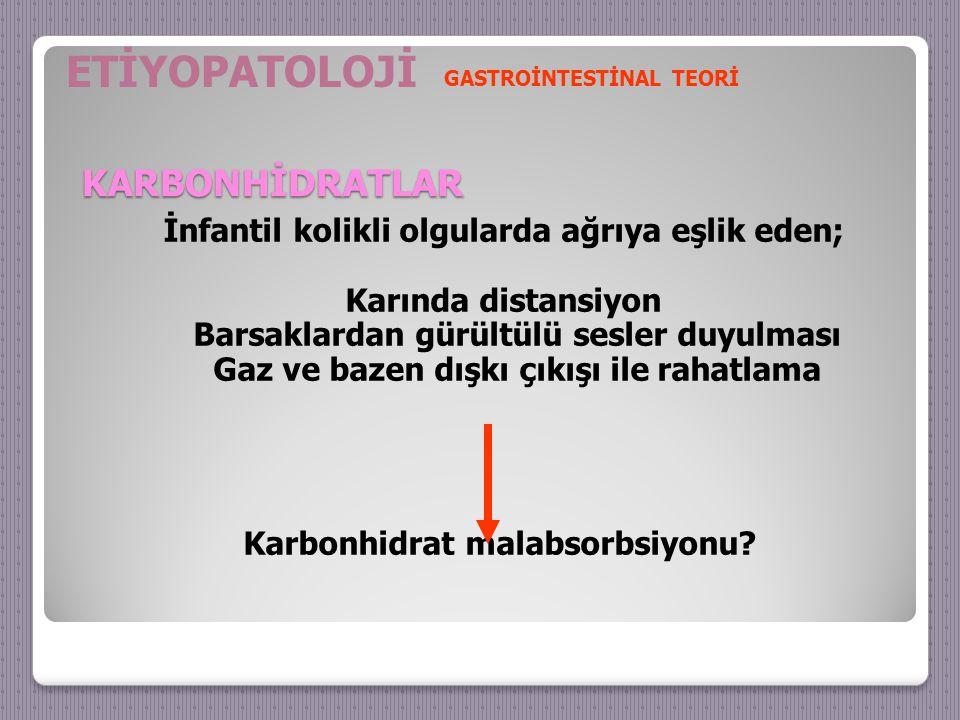 ETİYOPATOLOJİ KARBONHİDRATLAR