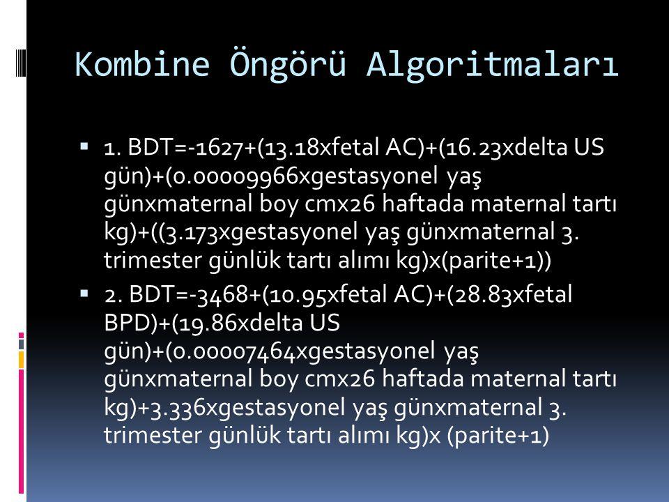 Kombine Öngörü Algoritmaları