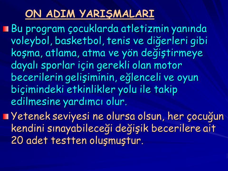 ON ADIM YARIŞMALARI