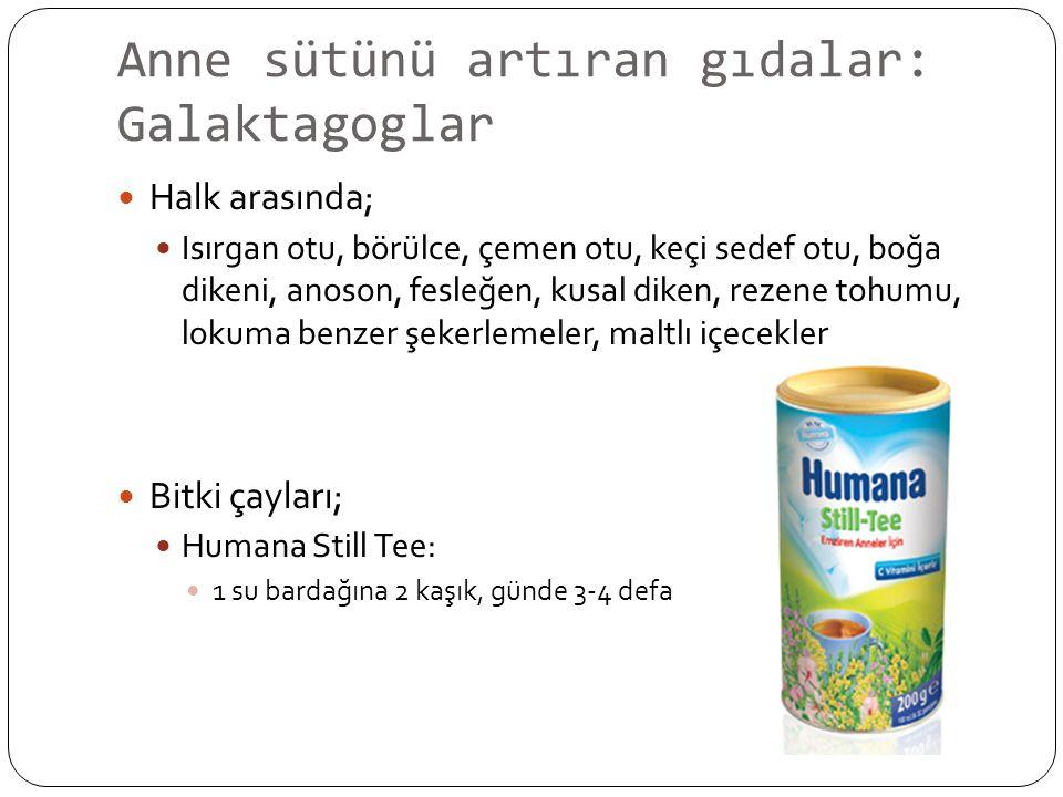 Anne sütünü artıran gıdalar: Galaktagoglar