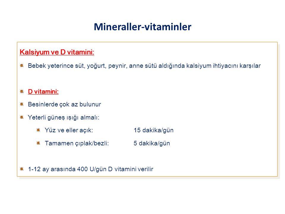 Mineraller-vitaminler