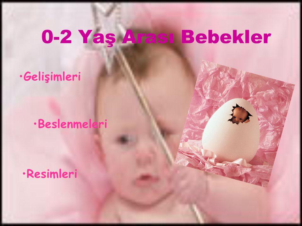 0-2 Yaş Arası Bebekler Gelişimleri Beslenmeleri Resimleri