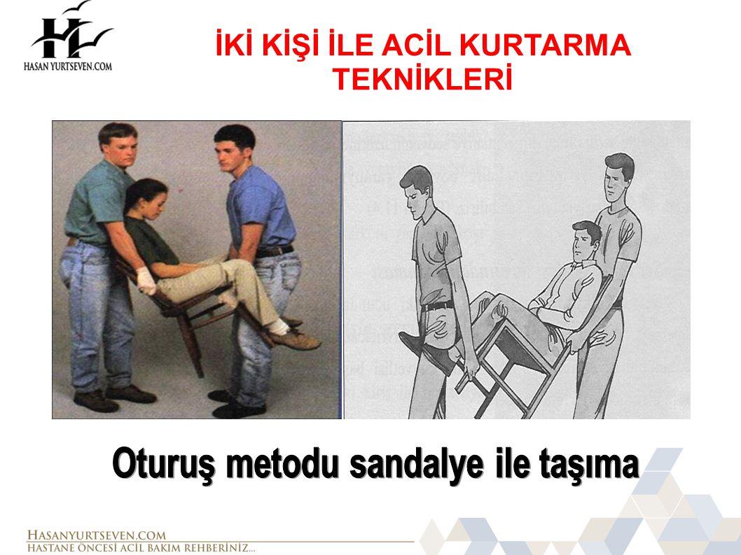 Oturuş metodu sandalye ile taşıma