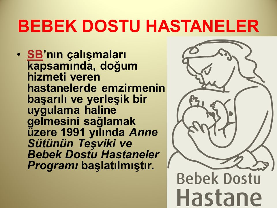 BEBEK DOSTU HASTANELER