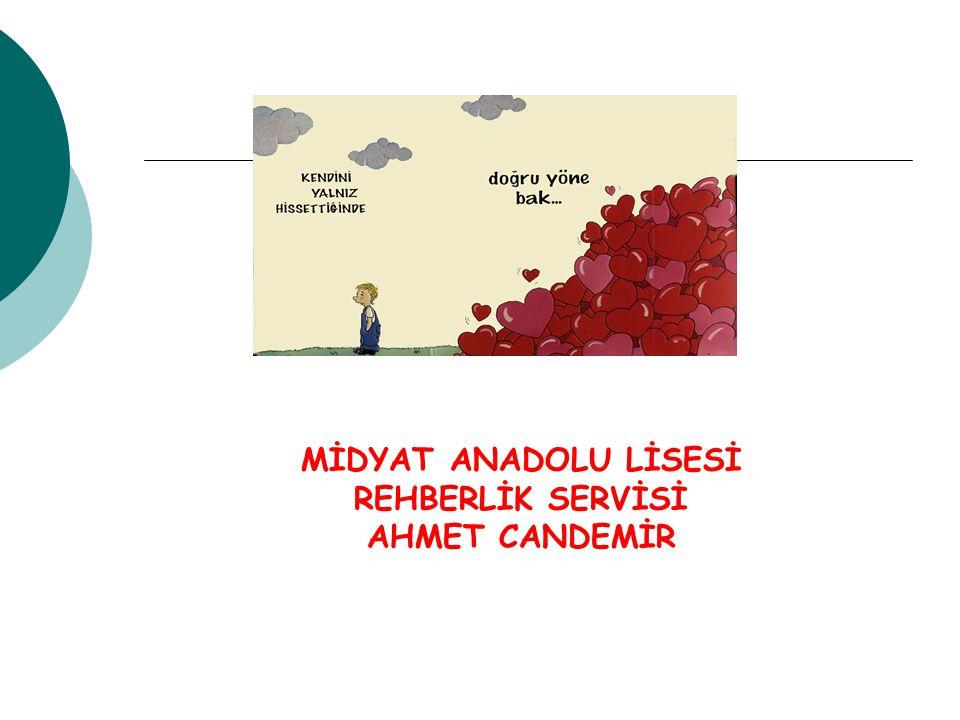 MİDYAT ANADOLU LİSESİ REHBERLİK SERVİSİ