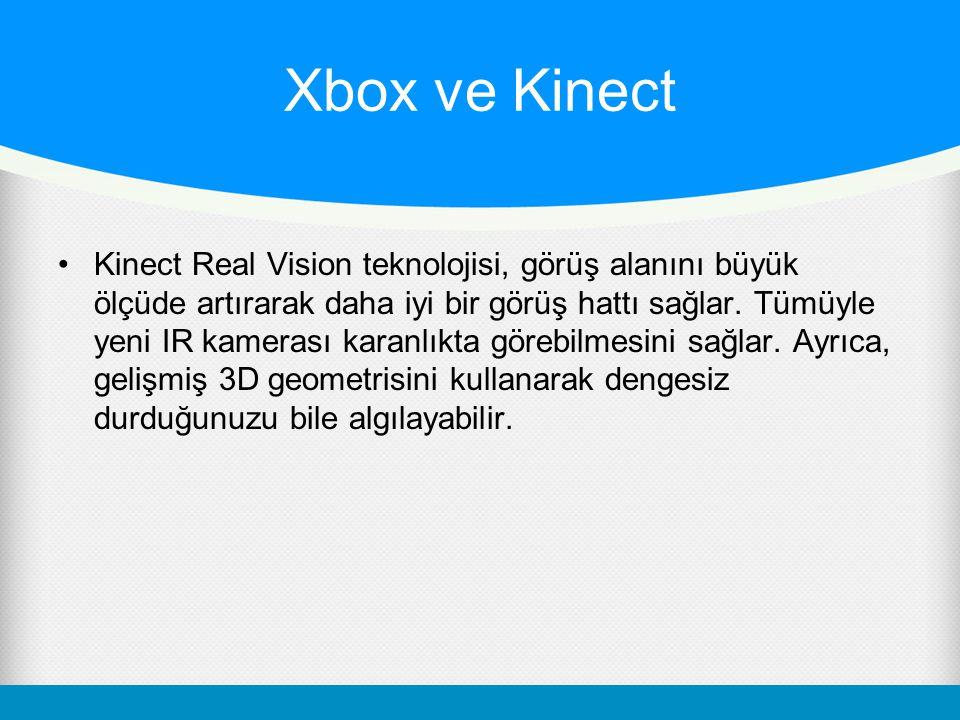 Xbox ve Kinect