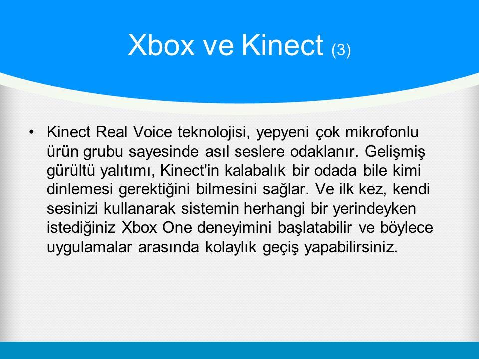 Xbox ve Kinect (3)