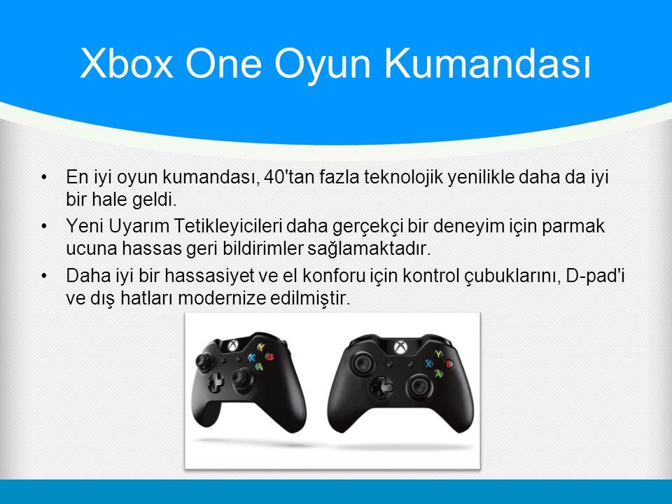 Xbox One Oyun Kumandası