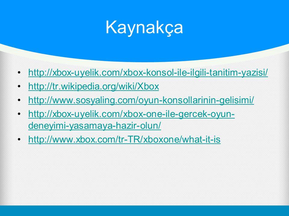 Kaynakça http://xbox-uyelik.com/xbox-konsol-ile-ilgili-tanitim-yazisi/