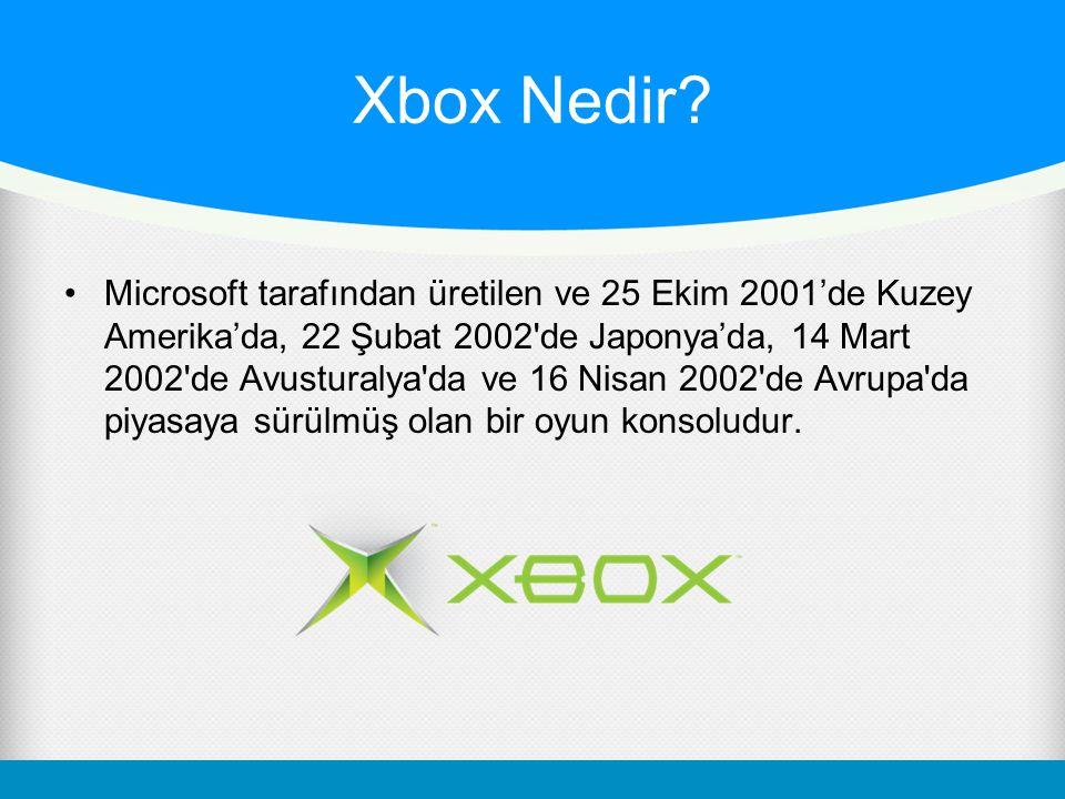 Xbox Nedir