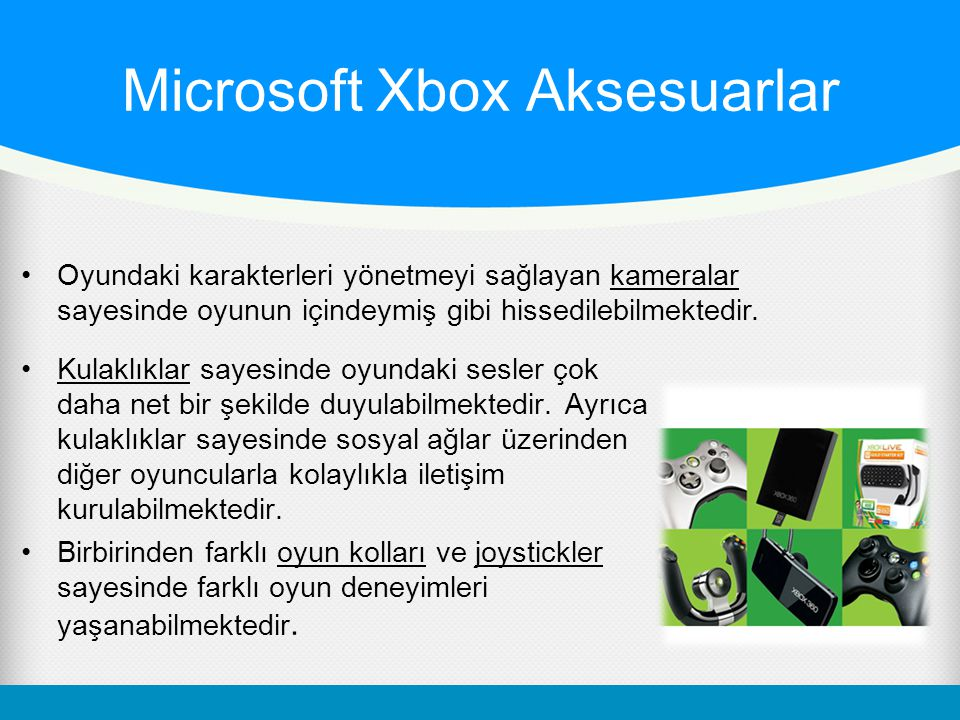 Microsoft Xbox Aksesuarlar