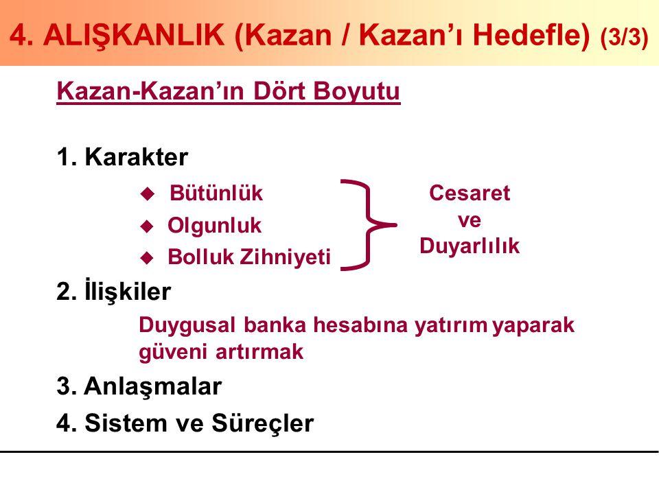 4. ALIŞKANLIK (Kazan / Kazan'ı Hedefle) (3/3)