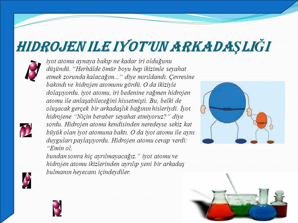 Hidrojen ile iyot'un ArkadaŞlIĞI