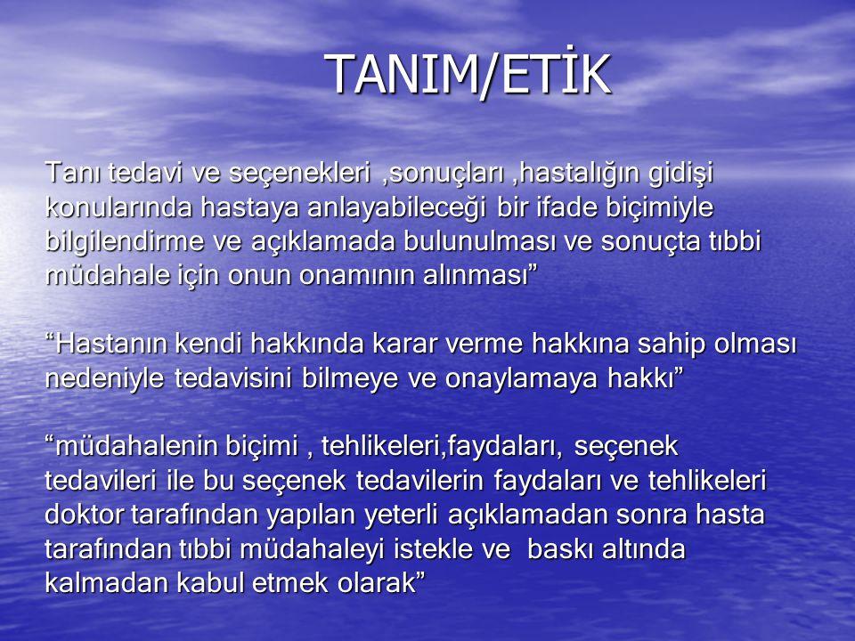 TANIM/ETİK