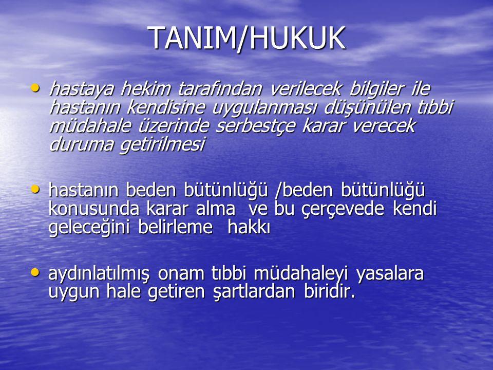 TANIM/HUKUK