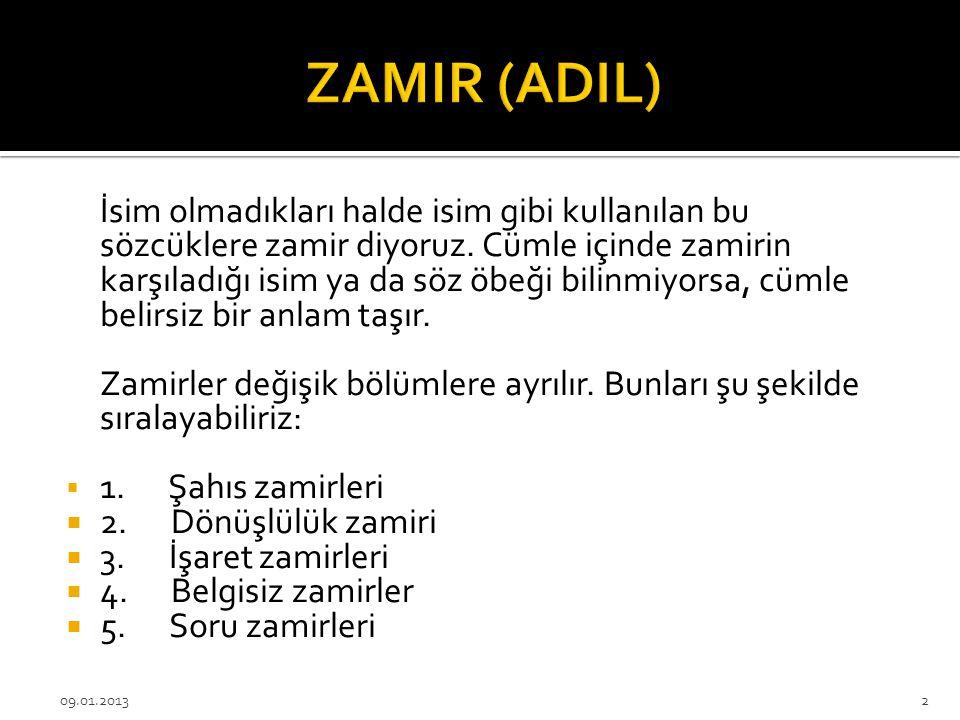 ZAMIR (ADIL)