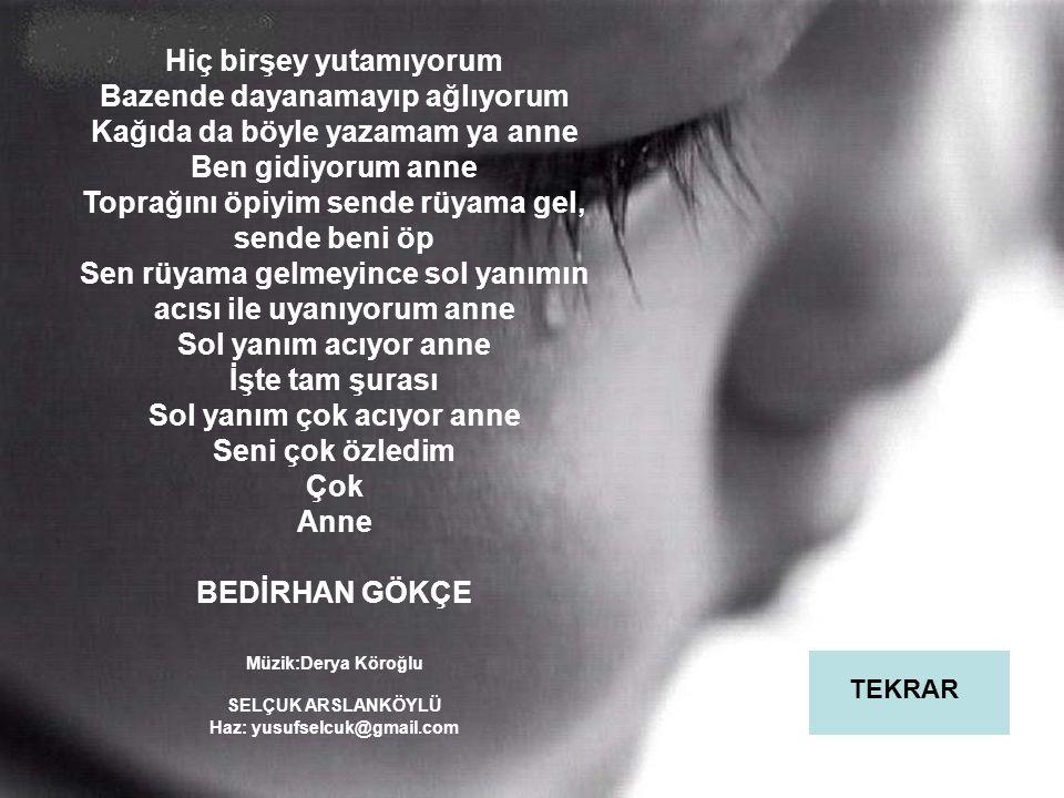Haz: yusufselcuk@gmail.com