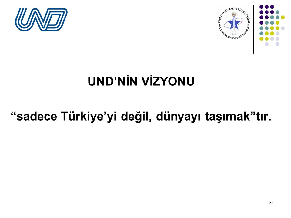 sadece Türkiye'yi değil, dünyayı taşımak tır.