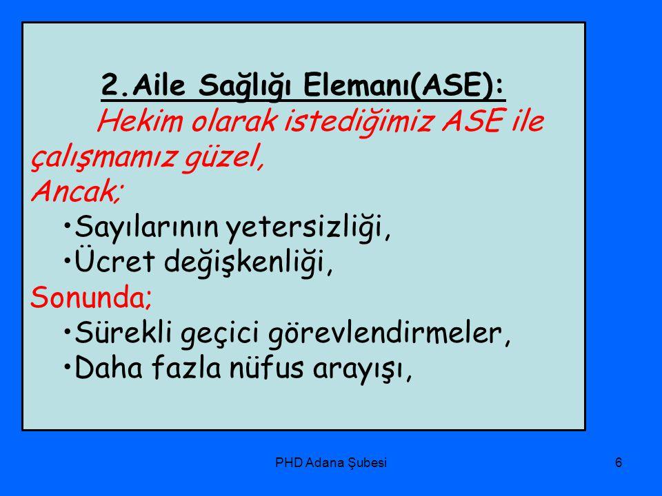 2.Aile Sağlığı Elemanı(ASE):
