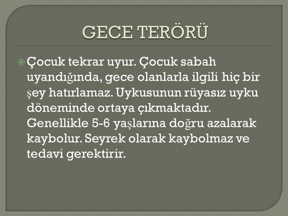 GECE TERÖRÜ