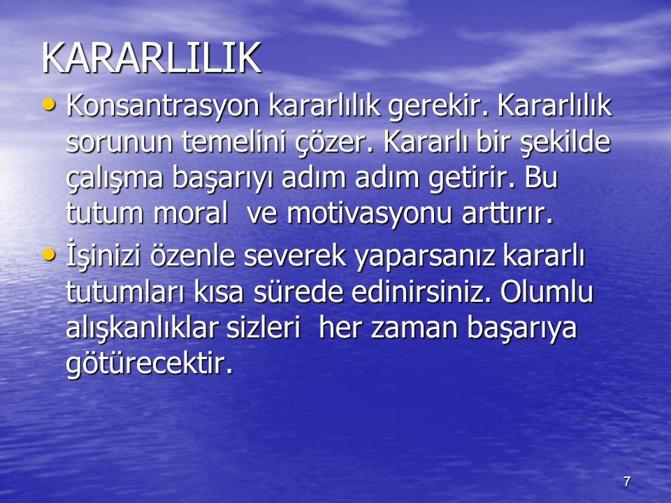 KARARLILIK