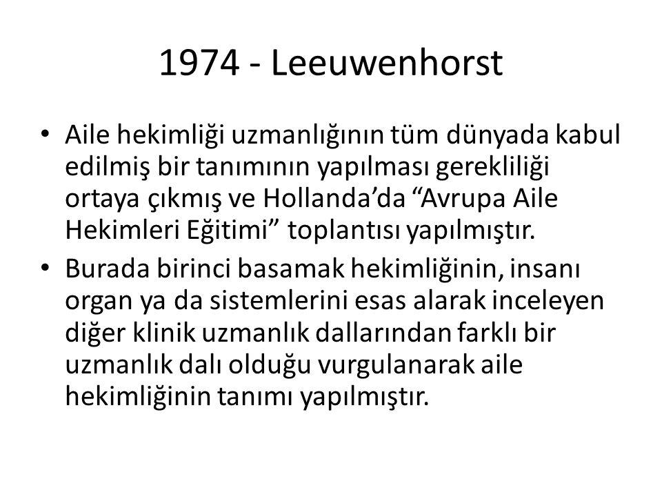 1974 - Leeuwenhorst