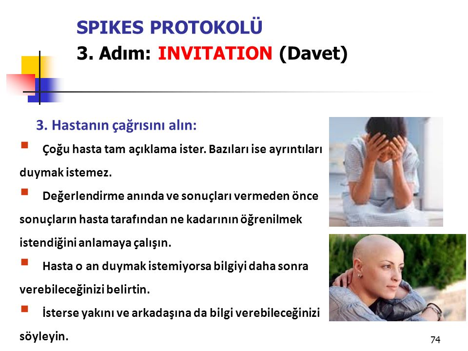 3. Adım: INVITATION (Davet)