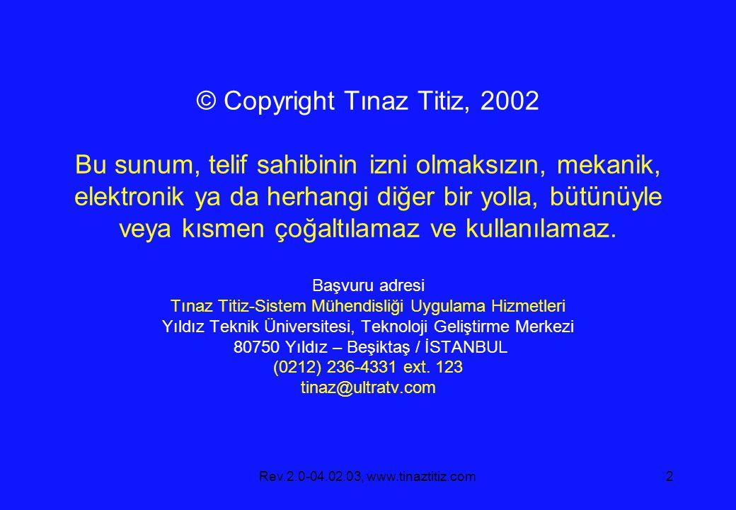Rev.2.0-04.02.03, www.tinaztitiz.com