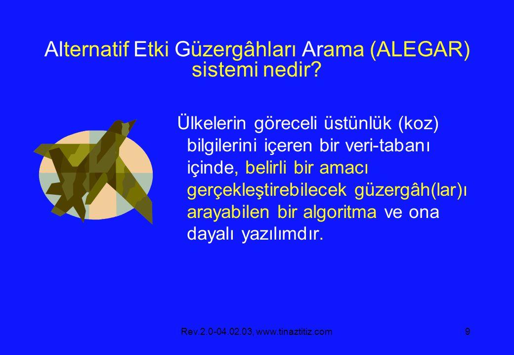 Alternatif Etki Güzergâhları Arama (ALEGAR) sistemi nedir