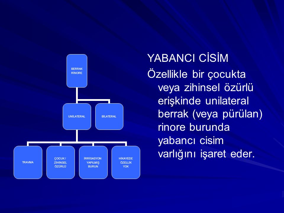 YABANCI CİSİM