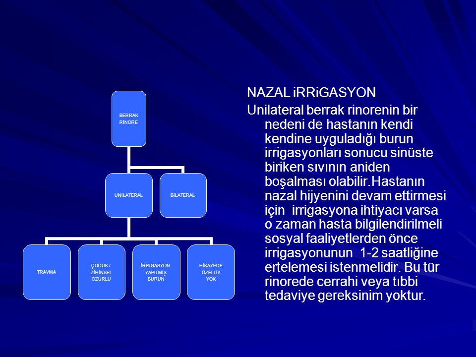 NAZAL iRRiGASYON