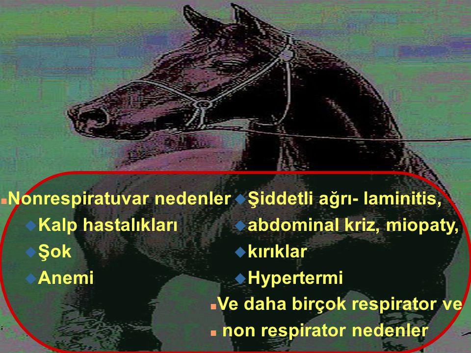Nonrespiratuvar nedenler