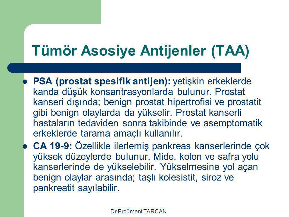 Tümör Asosiye Antijenler (TAA)