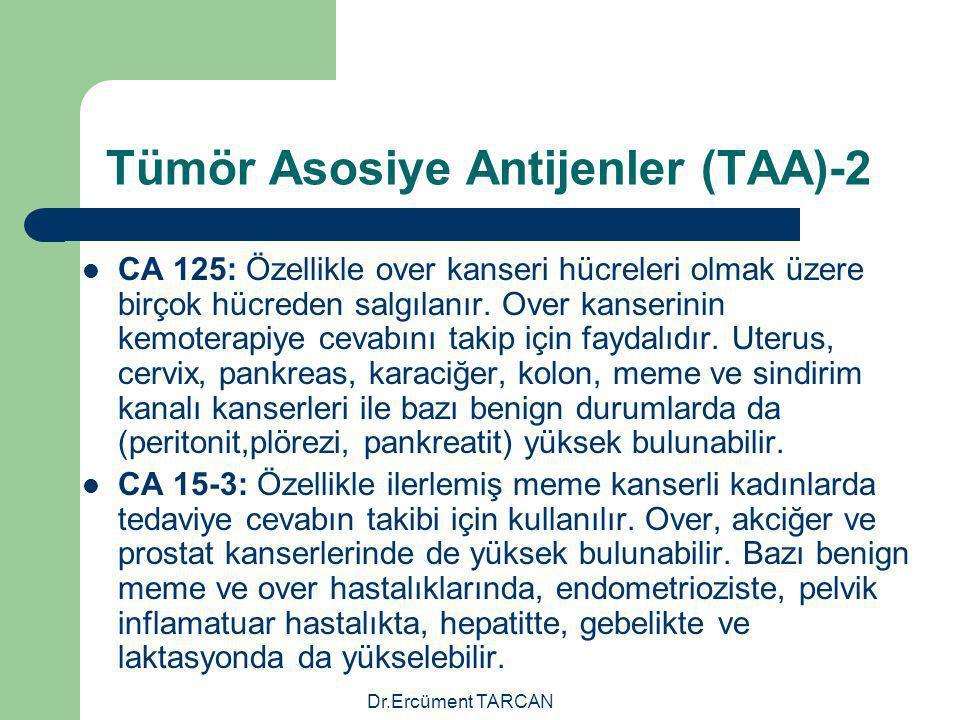 Tümör Asosiye Antijenler (TAA)-2