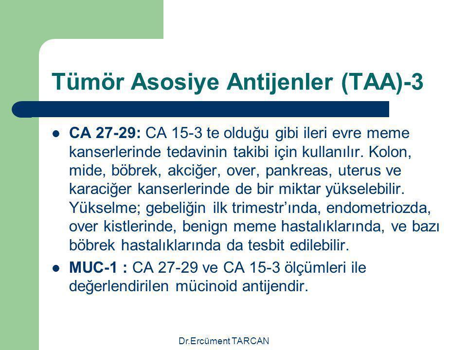 Tümör Asosiye Antijenler (TAA)-3