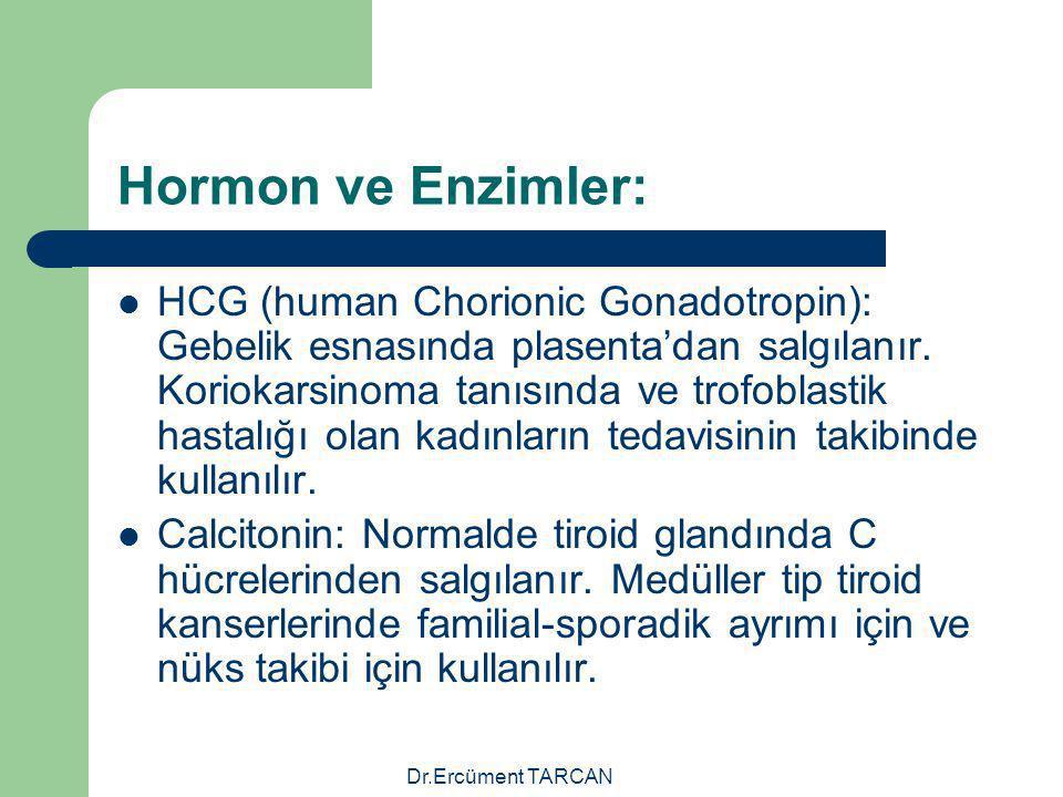 Hormon ve Enzimler: