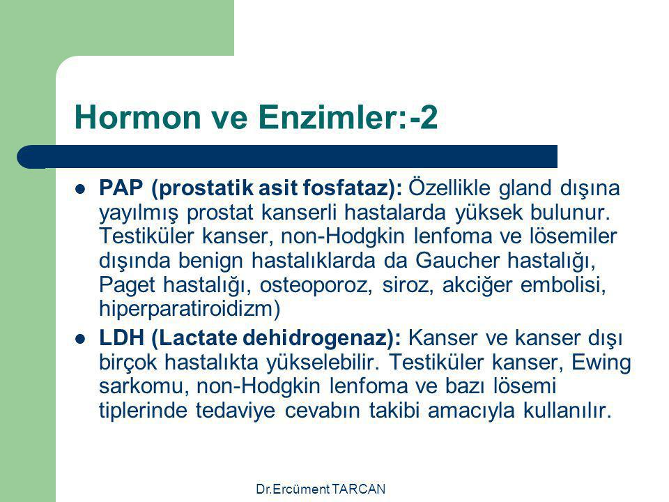 Hormon ve Enzimler:-2