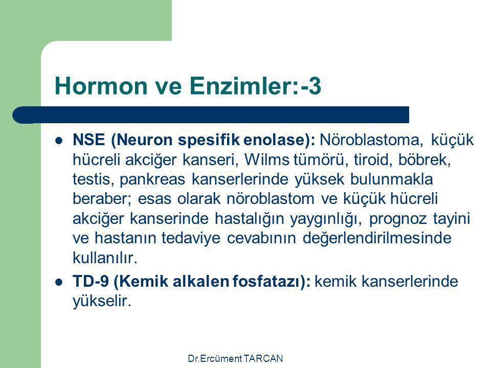Hormon ve Enzimler:-3