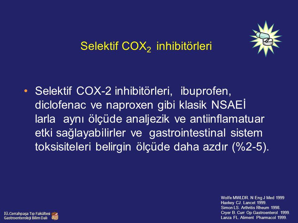 Selektif COX2 inhibitörleri