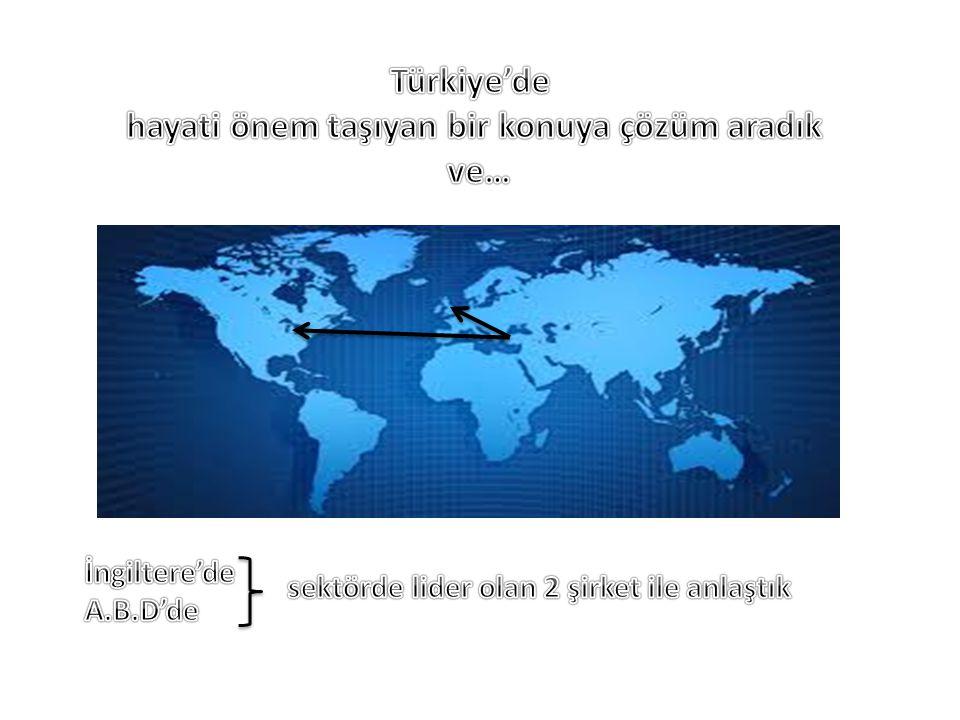 Türkiye'de hayati önem taşıyan bir konuya çözüm aradık ve…