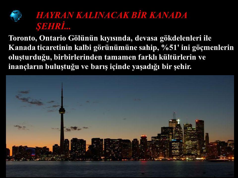 HAYRAN KALINACAK BİR KANADA ŞEHRİ...
