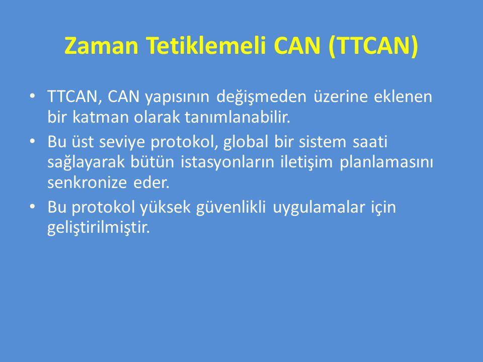 Zaman Tetiklemeli CAN (TTCAN)
