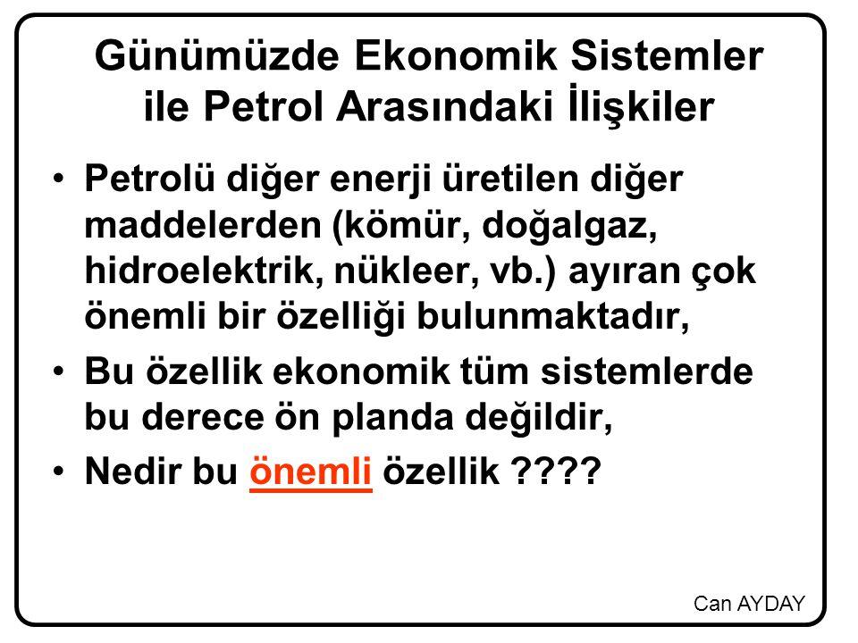 Günümüzde Ekonomik Sistemler ile Petrol Arasındaki İlişkiler