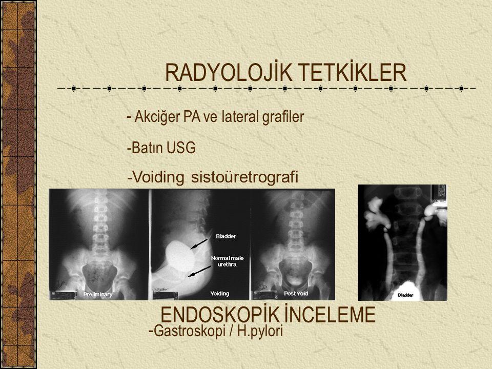 RADYOLOJİK TETKİKLER - Akciğer PA ve lateral grafiler
