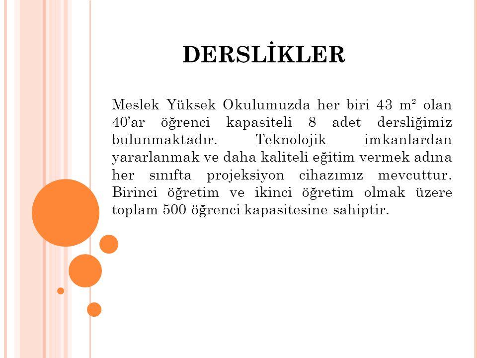 DERSLİKLER